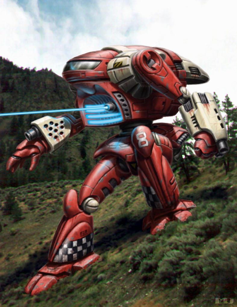 Battletech - Daikyu by SteamPoweredMikeJ