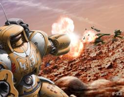 Battletech Card - Expert Timing by SteamPoweredMikeJ