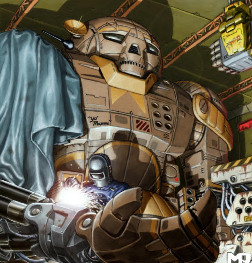 Battletech - Atlas by SteamPoweredMikeJ