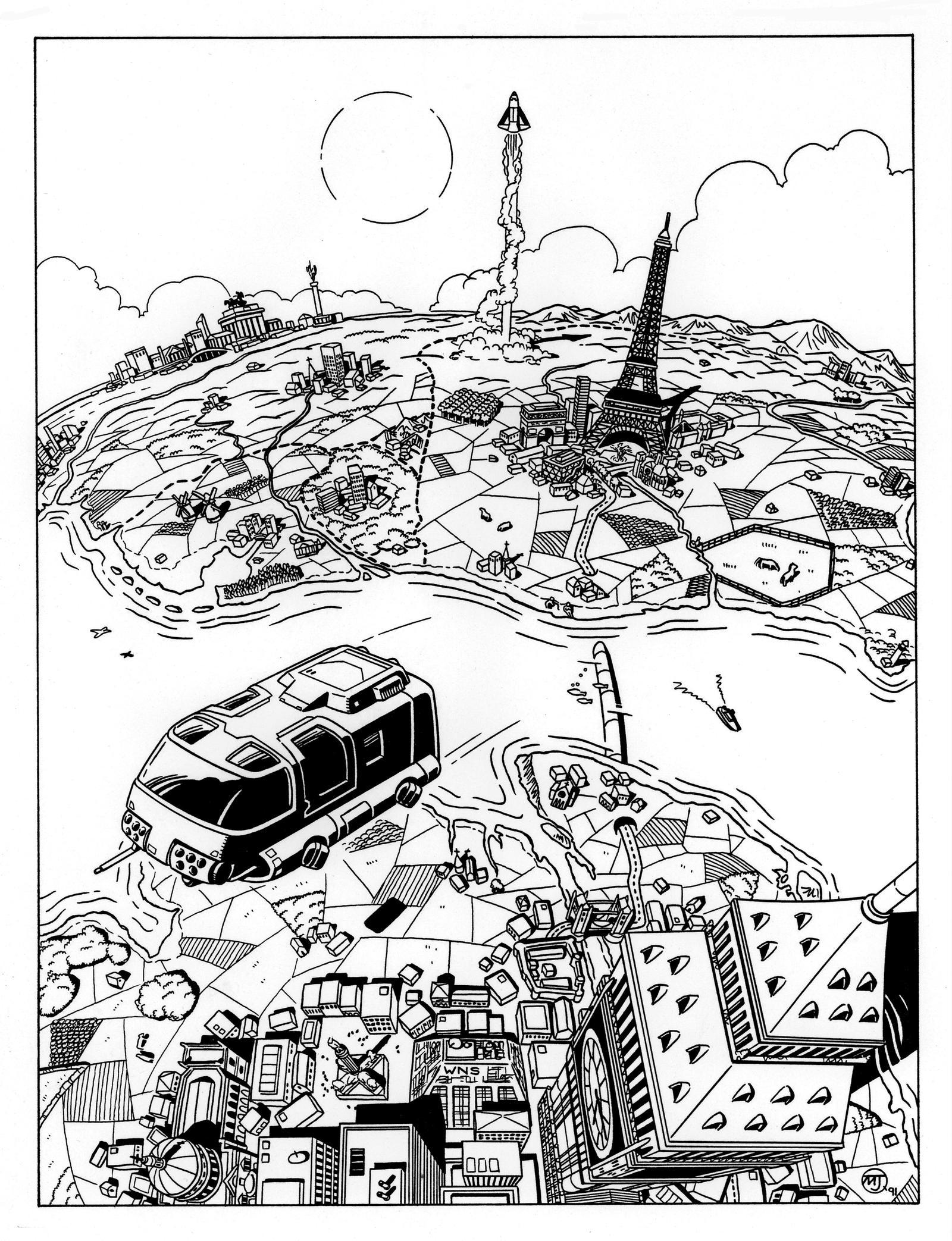 Cyberpunk - Europe by SteamPoweredMikeJ