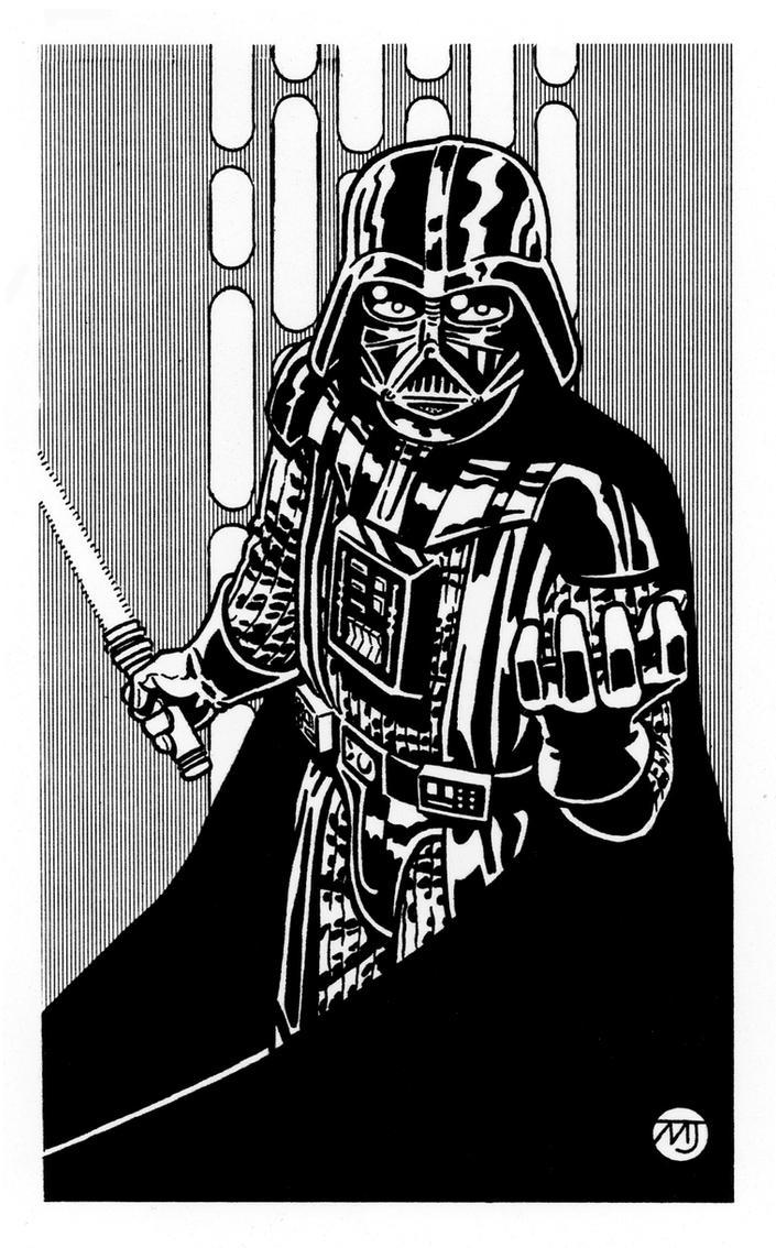 Star Wars - Darth Vader by SteamPoweredMikeJ