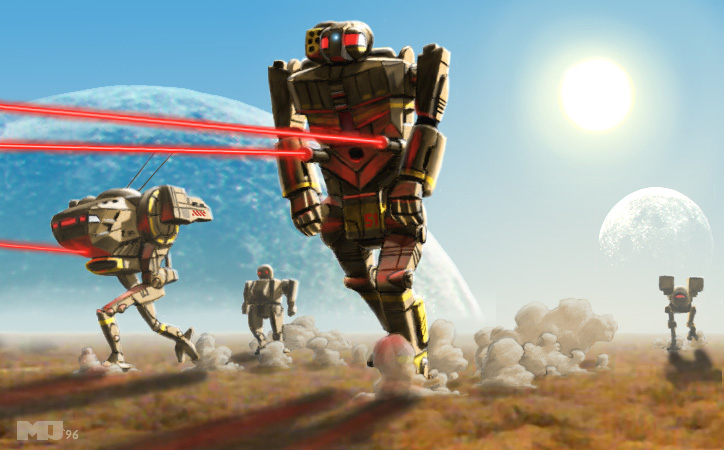 Battletech - On the Run by SteamPoweredMikeJ