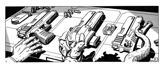 Spacemaster - Guns Guns Guns