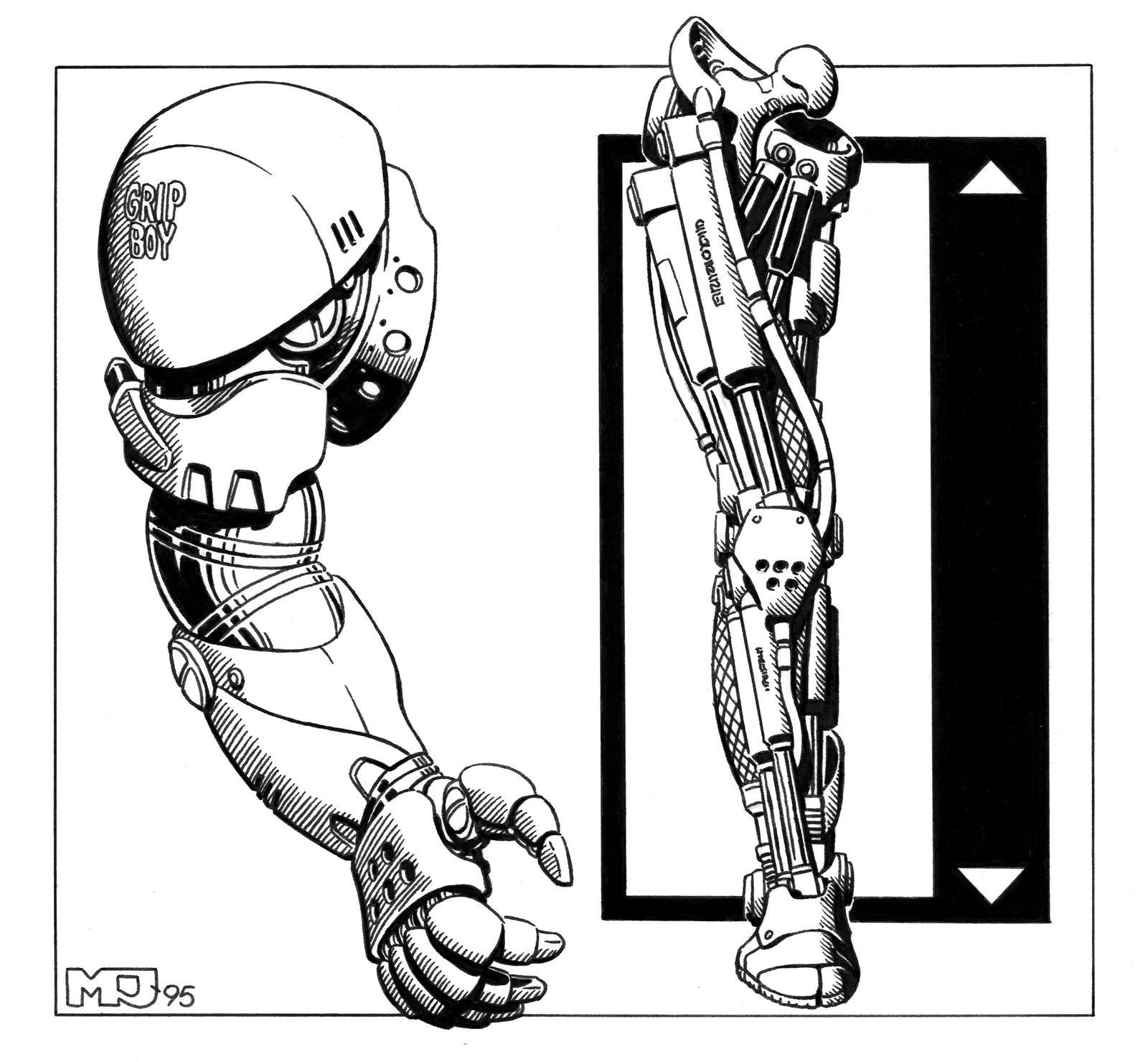 Shadowrun - GripBoy by SteamPoweredMikeJ
