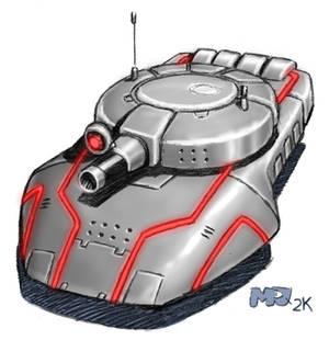 Anachronox - Tank
