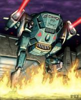 Battletech Card - Cicada 2 by SteamPoweredMikeJ