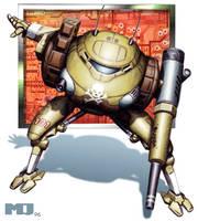 Battletech - Sentinel by SteamPoweredMikeJ