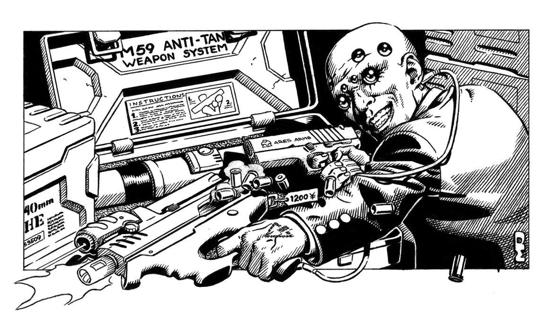 Shadowrun fresh guns by steampoweredmikej on deviantart