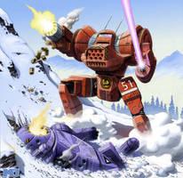 Battletech - Dragon by SteamPoweredMikeJ