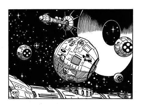 Battletech - Spaceships