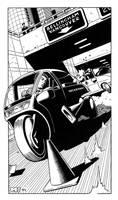 Shadowrun - Highway by SteamPoweredMikeJ