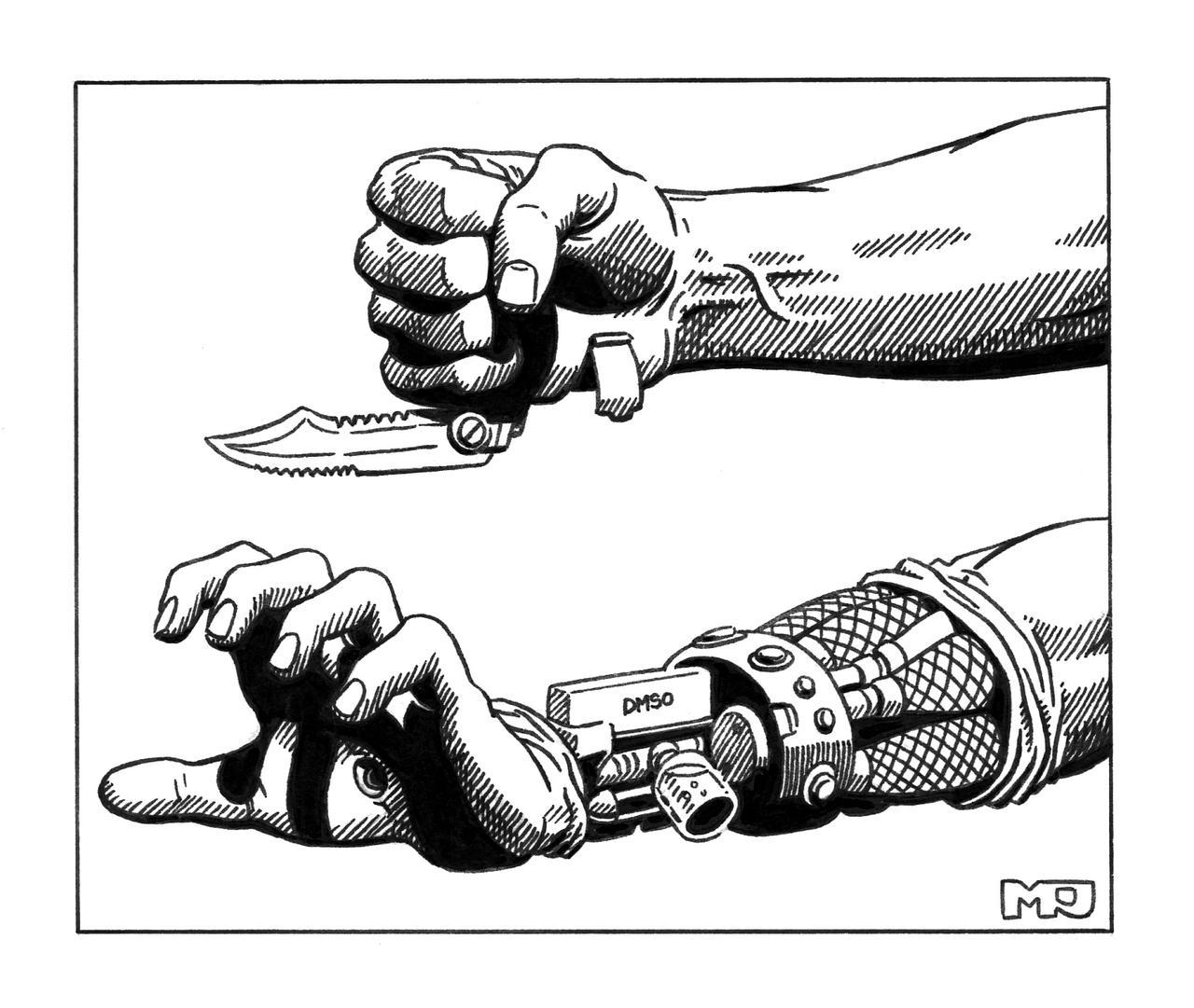 Shadowrun - Fists by SteamPoweredMikeJ