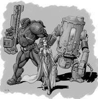 Transhuman by SteamPoweredMikeJ