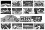 Kim Possible Storyboards Collection by SteamPoweredMikeJ