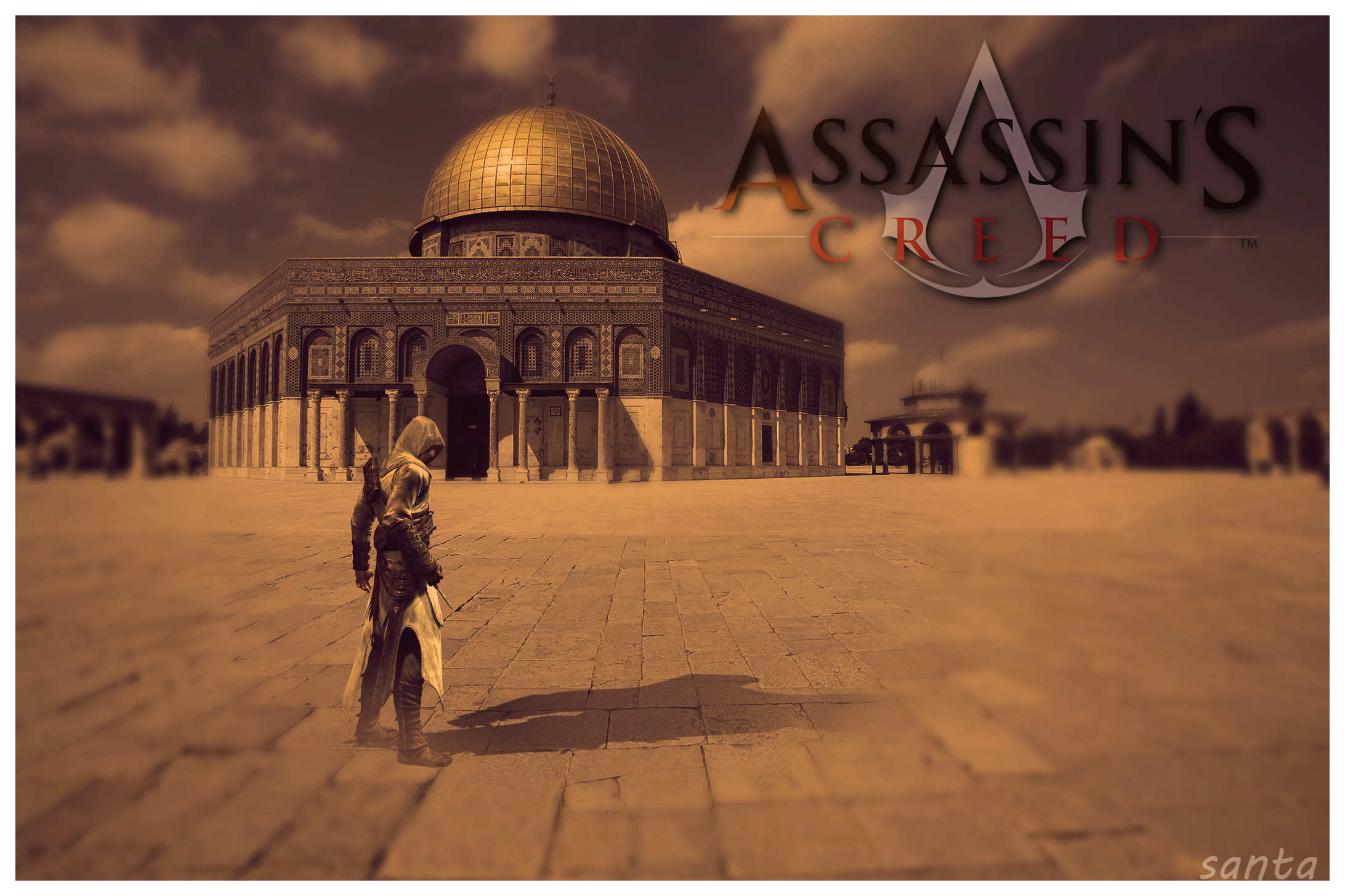 Assassins Creed Wallpaper By SantaKlau