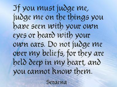 Judge by Seraena
