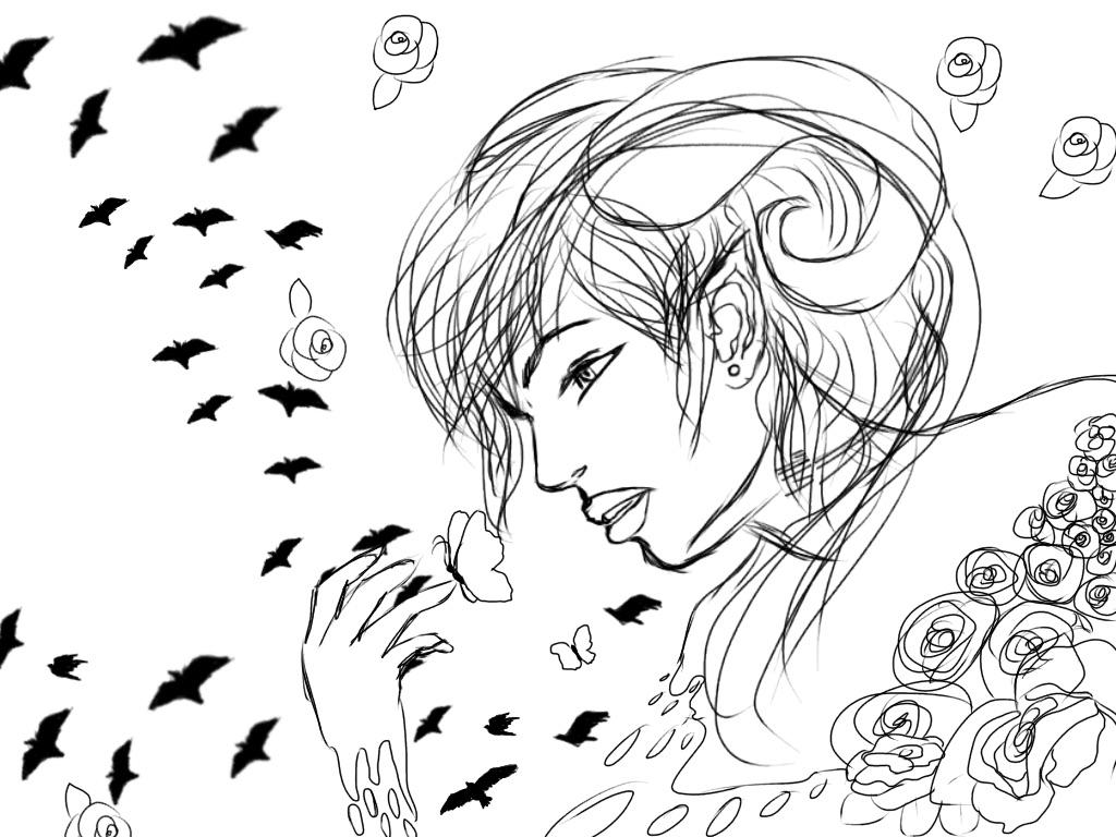 Melting rose by Stormdeathstar9