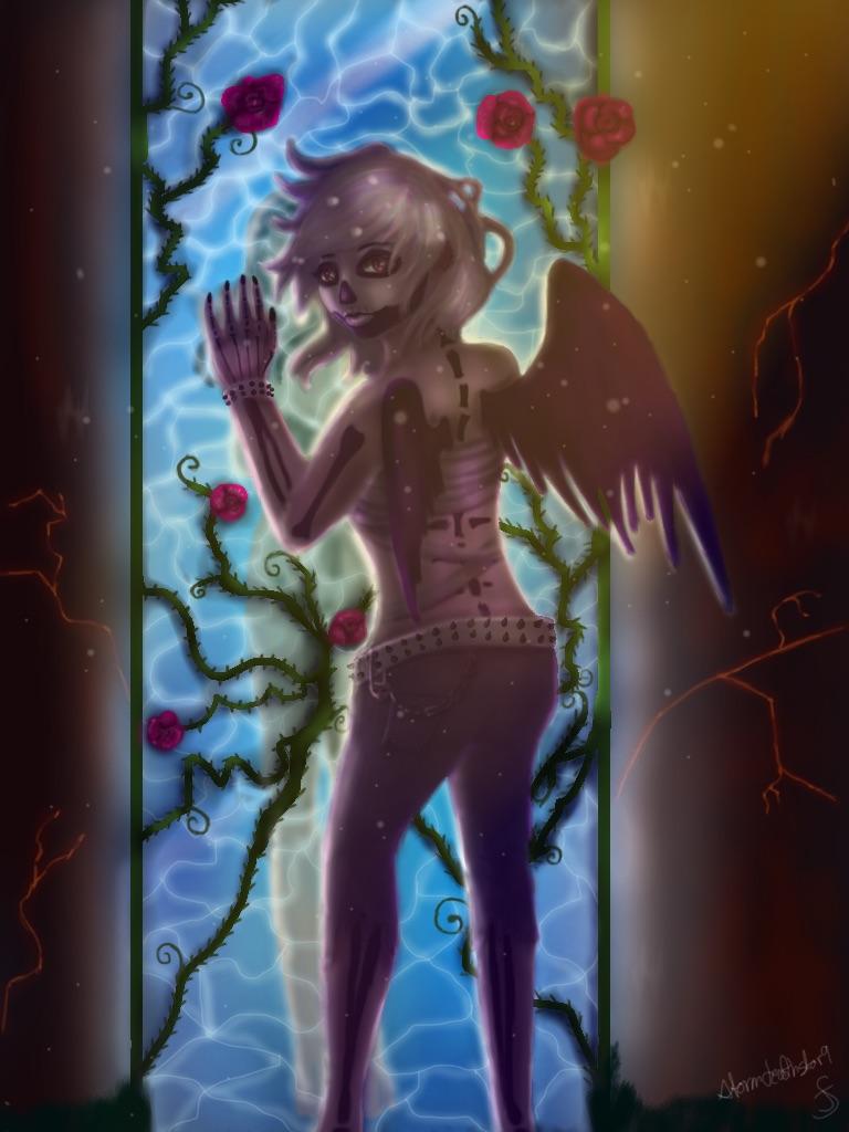 Nanami for mroczniak's contest! by Stormdeathstar9