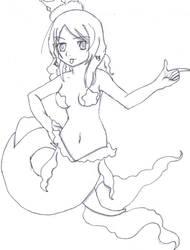 Cheesecake Mermaid by AkatsukiKaizoku