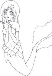 Silver Mermaid by AkatsukiKaizoku