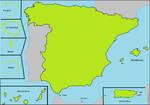 True Territories of Spain