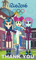 Equestria Girls: Rio 2016 - Thank You by TheMexicanPunisher