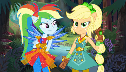 More Power of Love (AppleDash) by TheMexicanPunisher
