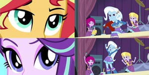 Shimmer vs Glimmer (Trixie's Reaction) by TheMexicanPunisher