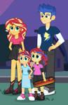 Equestria Girls: FlashShimmer Family
