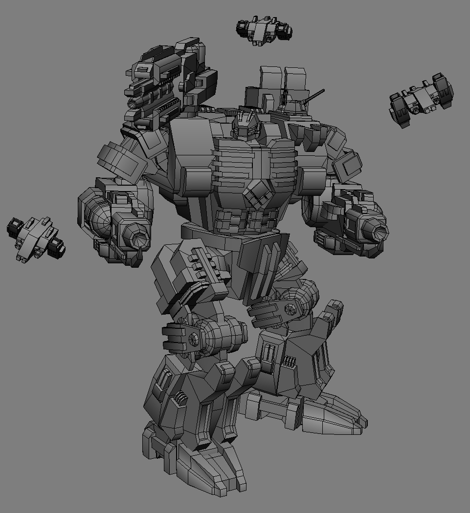 WIP2 - Golaith MKII by MikeTehFox
