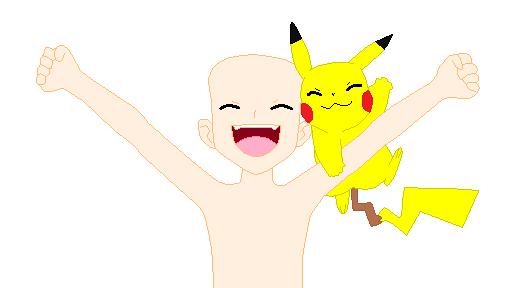 happy pokemon trainer base by folkracedaughter on deviantart