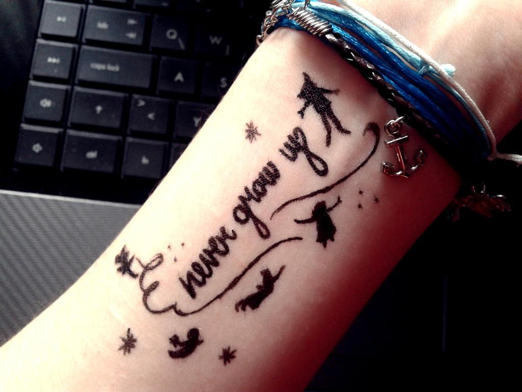 Never Grow Up By XXNikkiRossXx