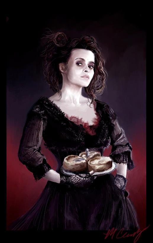 Mrs. Lovett by DizzyEmotions
