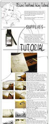 Traditional Inking Tutorial by meiken