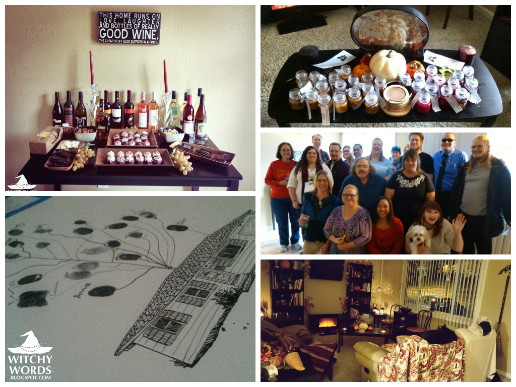 Our Wine-Themed Housewarming Party by meiken