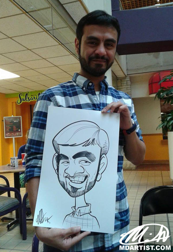 Party Caricature 2 by meiken