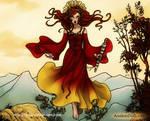 Brigid - Celtic  Goddess of Fire