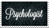 Psychologist Stamp by Fercy