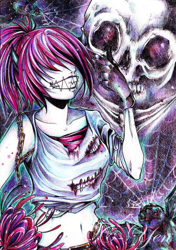 Skeleton Playground by C-Yen