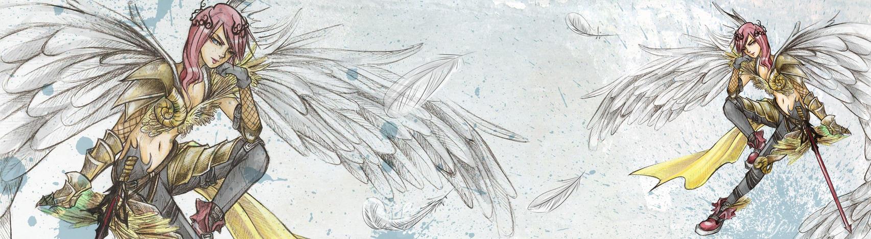 Fallen Angel by C-Yen