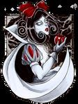 Inktober 12 - Snow White