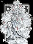 Inktober 20 - Porcelain Rapunzel