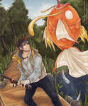 Noctis, King of Fishing!