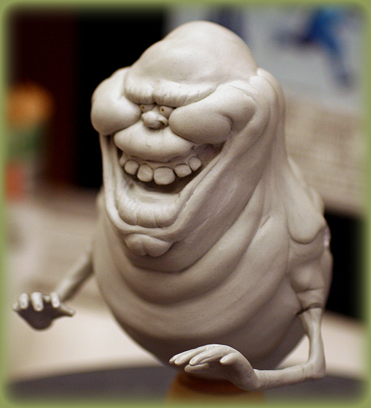 Slimer by SculptorScotty