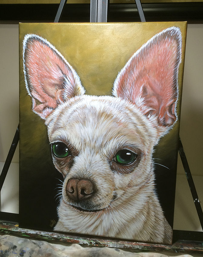 Chihuahua by SculptorScotty