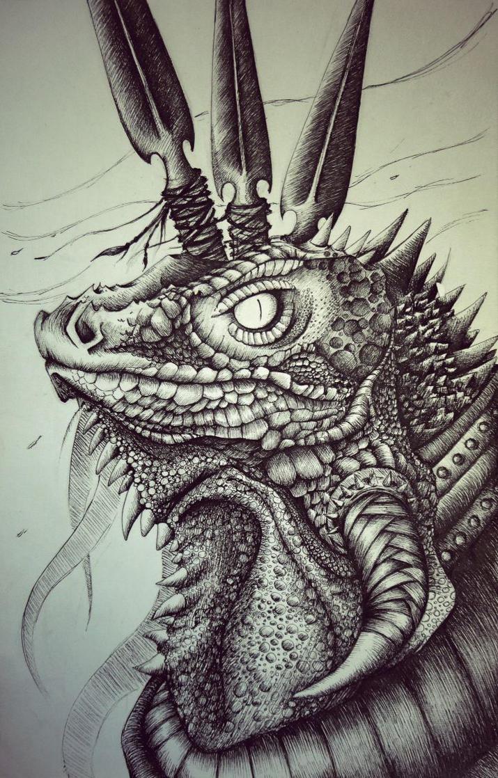 Lizard by FirebladeMe