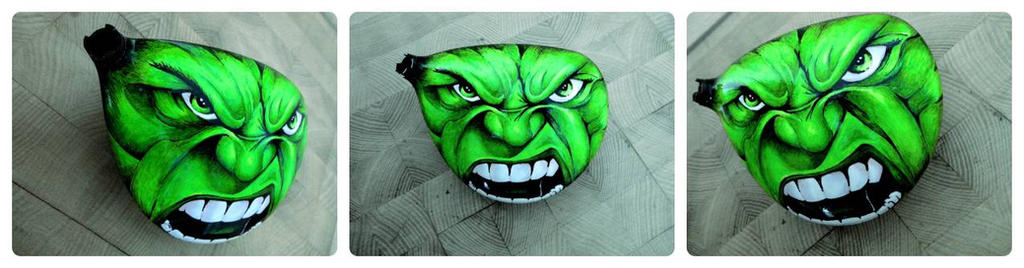 hulk / golf club by FirebladeMe