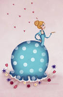 Miss Teapot's garden by chuckometti