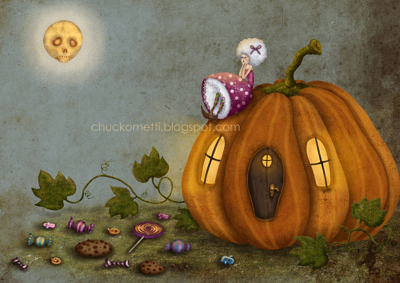 Pumpkin Queen by chuckometti