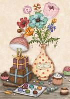 Les fleurs du Printemps by chuckometti